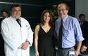 Dr. Ernesto Behnke, soprano Patricia Cifuentes y Dr. Pablo Vial