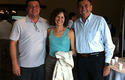Dra Valdivieso con expositores de Brasil y Argentina