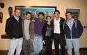 Estudiantes que aprobaron USMLE junto a Dr. Cavagnaro