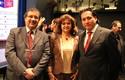 Sergio Astudillo, María Adriana Parra y Julio González