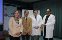 Dra. Jadue, José Luis Medina, Dr. Behnke y Dr. Lillo