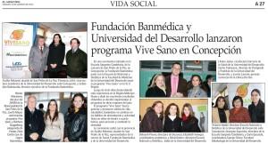 Vive Sano Concepción - El Mercurio