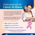 Charla Prevención Cáncer de Mama