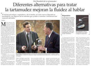 Día de la Tartamudez - Reportaje El Mercurio