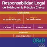 Foro Responsabilidad Legal del Médico en la Práctica Clínica