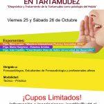 Poster Curso Tartamudez 2013