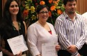 Doctores Irene Vásquez, Constanza Rivera y Jean Paul Fillipi