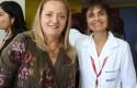 Dra. Liliana Jadue y Dra. Paula Daza, jefa de Docencia, Desarrollo y Comunicaciones de Clínica Dávila