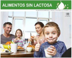 Alimentos sin lactosa - El Mercurio