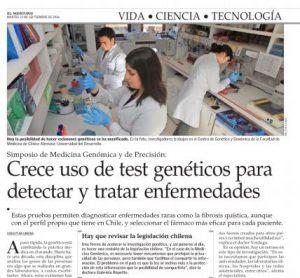 Crece uso de test genéticos para detectar y tratar enfermedades