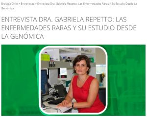Dra. Repetto en Biología Chile