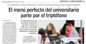El menú perfecto del universitario