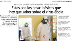 Estas son las cosas básicas que hay que saber del virus ébola - Las Últimas Noticias 9 de agosto 2014