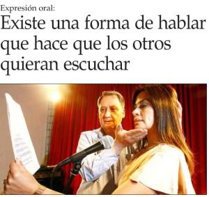 Fonoaudiología - El Mercurio 6 de julio 2014
