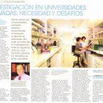 Investigaciones en Universidades Privadas
