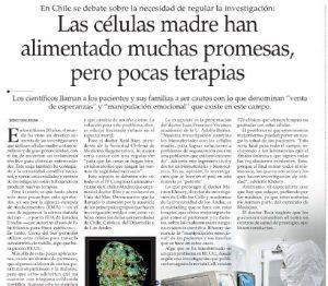 Las células madre han alimentado muchas promesas, pero pocas terapias