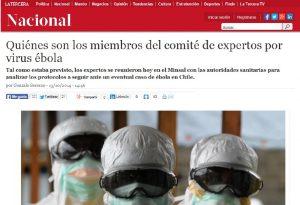 Miembros comité ébola