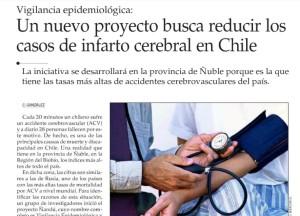 Nuevo proyecto busca reducir casos de infarto cerebro vascular en Chile