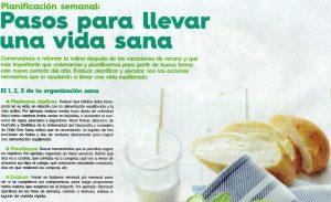 Pasos para llevar una vida sana - Ediciones Especiales de La Tercera 19 de marzo 2015