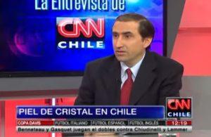 Piel de Cristal en Chile - Dr. Francis Palisson en CNN Chile - 24 de noviembre 2014