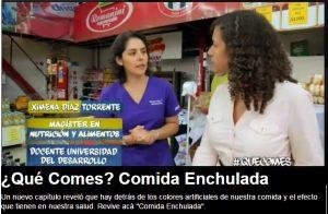 Qué comes, Comida Enchulada - TVN 30 de marzo 2015