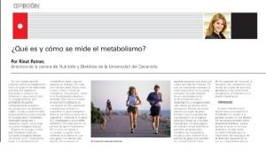Qué es y cómo se mide el metabolismo