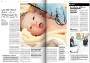 Reportaje Células madre La Tercera