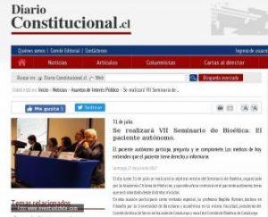 diario constitucional bioetica