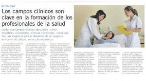 los campos clinicos son clave
