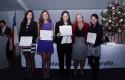 Doctora Jadue y alumnos premiados