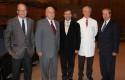 Doctores Pablo Vial, Fernando Monckeberg, Arnold Hoppe, Juan Hepp y Patricio Silva