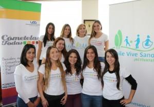 Alianza Cómetelas Todas con Fundación Chile Vive Sano