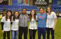 Docentes de Nutrición y Dietética UDD en Expo Fútbol 2014