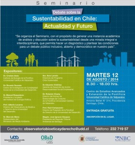 Seminario Sustentabilidad OB&D-PUCV- Portada