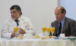Dr. Ernesto Benhke y Dr. Pablo Vial