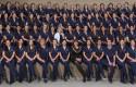 Alumnos de primer año - Investidura Enfermería 2014