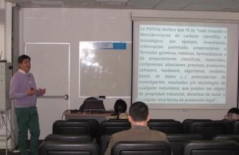 Charla sobre Propiedad Intelectual y Transferencia Tecnológica de la UDD