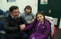 Paciente con Síndrome de Rett y familia