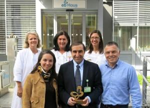 Premio EB Haus a dr. Palisson
