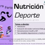 1ra Feria de Nutrición y Deporte 2014