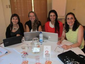 Directoras y coordinadoras académicas Odontología Stgo y Conce - Jornada Acreditación Odontología 2014