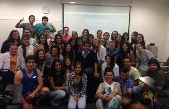 Fonoaudiología UDD coordinará voluntariado de Corporación Ciudad Accesible en Lollapalooza 2015