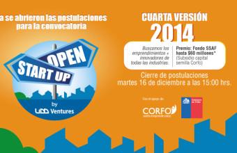 Última semana para postular a la convocatoria open Start-Up de UDD Ventures