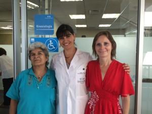 Primeras pacientes Clínica Kinésica de la Mujer  - 11 de marzo 2015