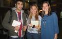 Estudiantes y Claudia Sponton
