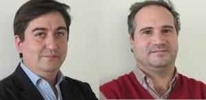 Rodrigo del Canto y Alberto Lecaros