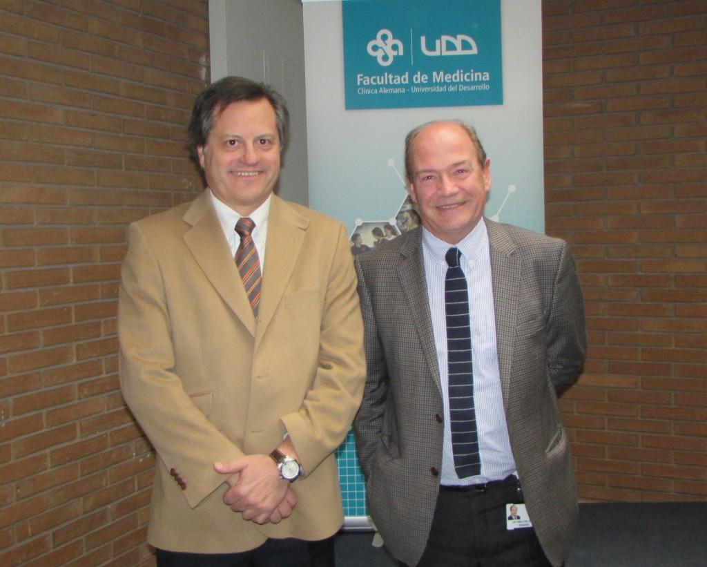 Dr. Ricardo Ronco y Dr. Pablo Vial