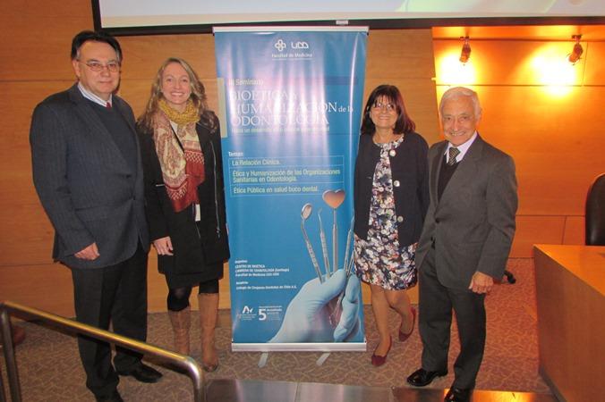 Jaime Villalobos, Joyce Huberman, Carmen Astete, Juan Pablo Beca