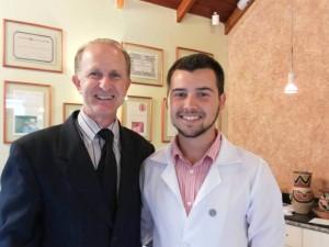 Con Francisco Pletsh, presidente del Consejo de Fonoaudiólogos del Estado de Parana y Santa Catarina