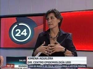 Ximena Aguilera Día Mundial Tuberculosis